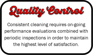 We maintain the highest level of satisfaction through performance evaluations & periodic inspections
