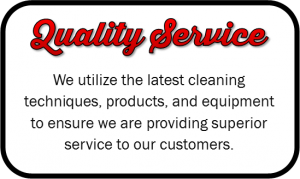 We provide the highest quality service for carpet cleaning & floor care